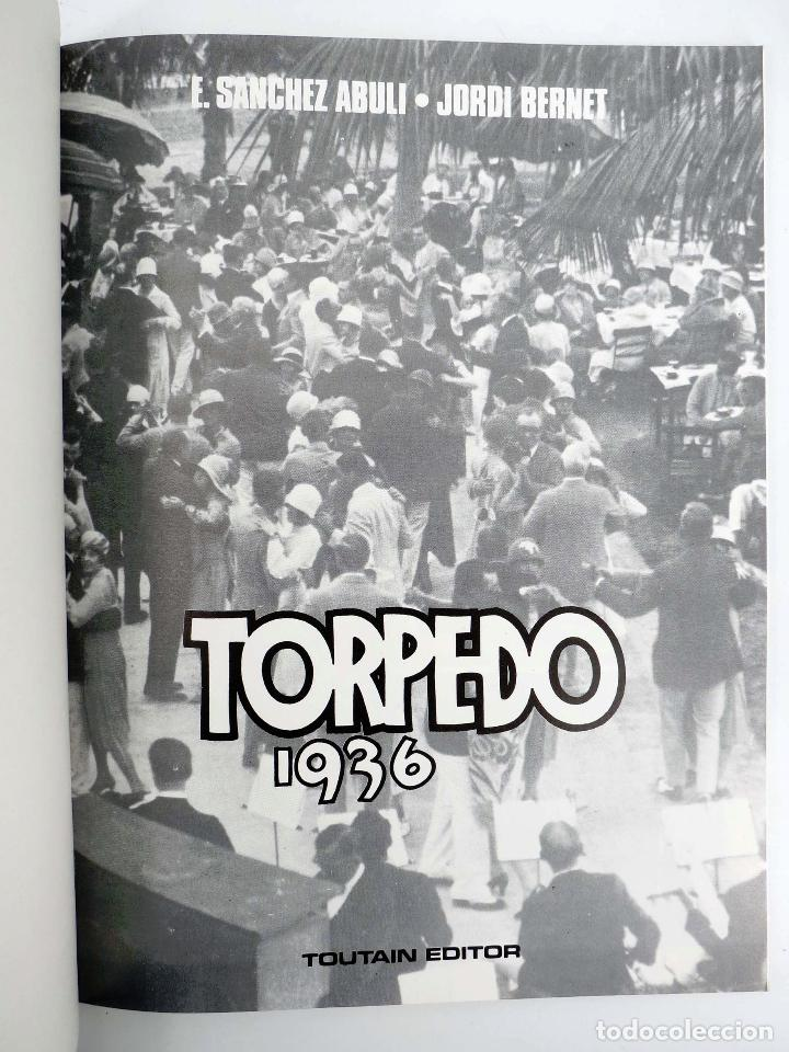 Cómics: TORPEDO 1936 4. HISTORIA LARGA. COLOR (Sánchez Abulí / Jordi Bernet) Toutain editor, 1986. OFRT - Foto 3 - 219709006