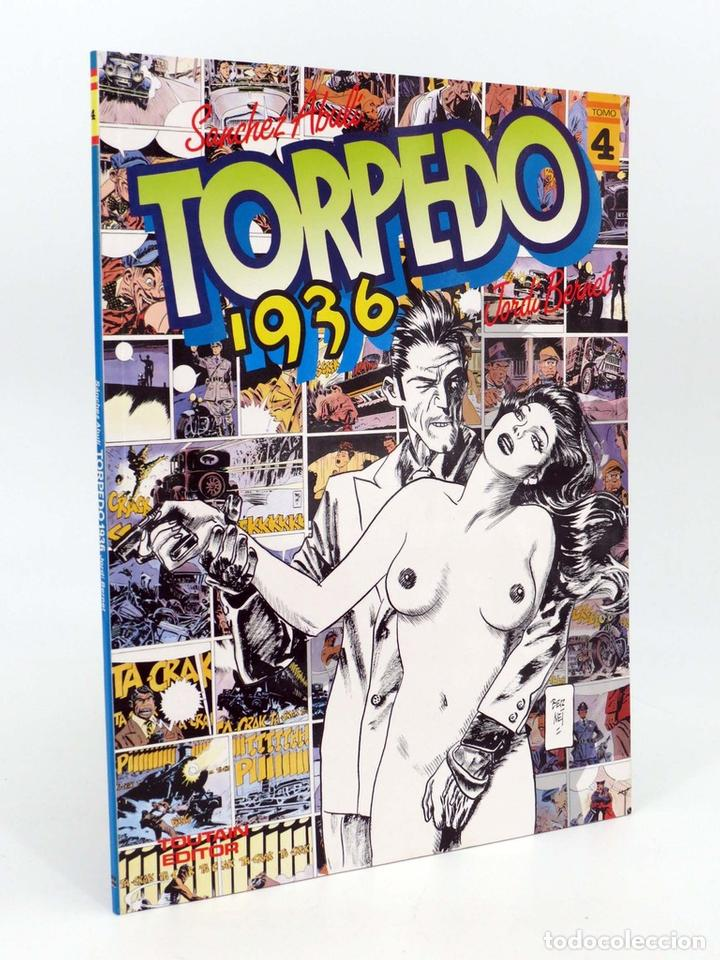 TORPEDO 1936 4. HISTORIA LARGA. COLOR (SÁNCHEZ ABULÍ / JORDI BERNET) TOUTAIN EDITOR, 1986. OFRT (Tebeos y Comics - Toutain - Álbumes)