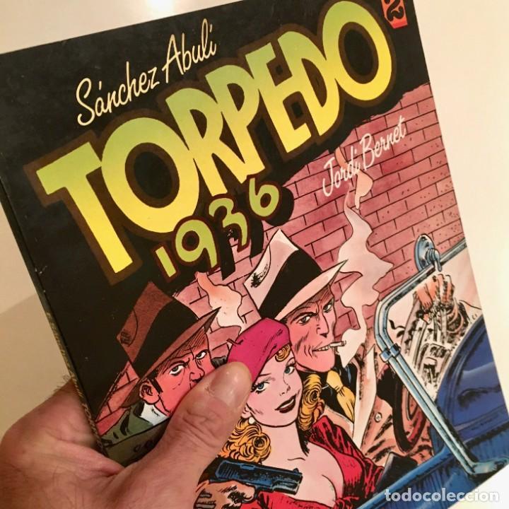 COMICBOOK TORPEDO 1936, TOMO 2, POR SANCHEZ ABULI Y JORDI BERNET, TOUTAIN EDITOR, AÑO 1984 (Tebeos y Comics - Toutain - Álbumes)