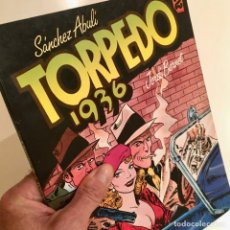 Cómics: COMICBOOK TORPEDO 1936, TOMO 2, POR SANCHEZ ABULI Y JORDI BERNET, TOUTAIN EDITOR, AÑO 1984. Lote 187510445