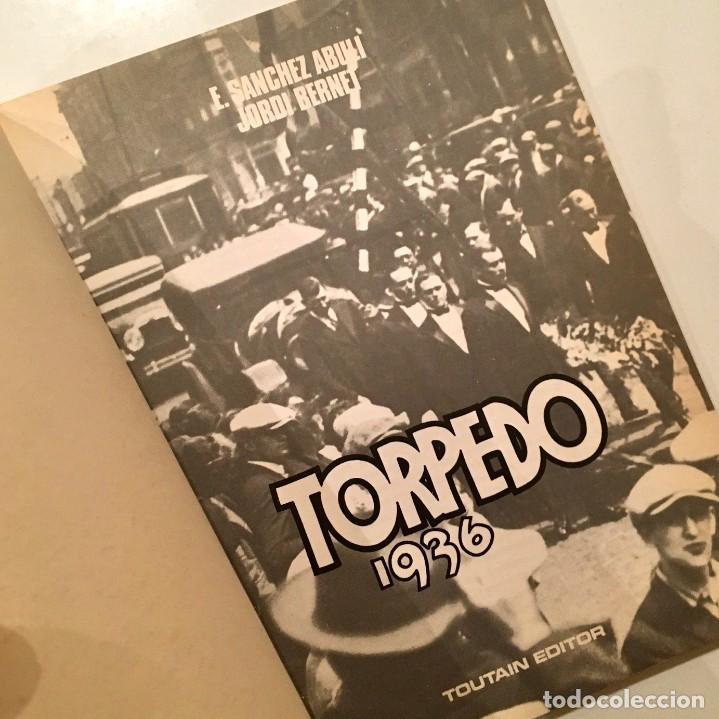 Cómics: Comicbook TORPEDO 1936, Tomo 2, por Sanchez Abuli y Jordi Bernet, Toutain editor, año 1984 - Foto 3 - 187510445