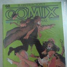 Cómics: ILUSTRACION+COMIX INTERNACIONAL Nº 68 PERFECTO ESTADO. Lote 206760321