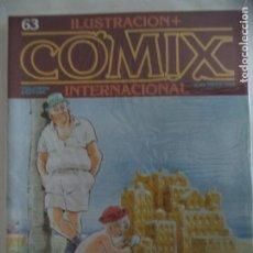 Cómics: ILUSTRACION+COMIX INTERNACIONAL Nº 63 PERFECTO ESTADO. Lote 206760437