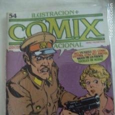 Cómics: ILUSTRACION+COMIX INTERNACIONAL Nº 54 PERFECTO ESTADO. Lote 206760492