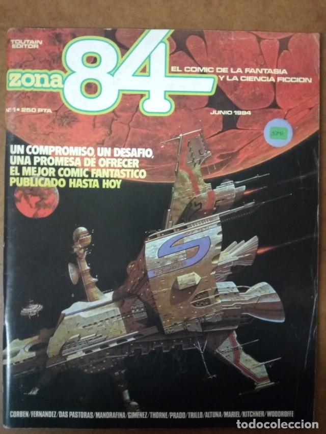 ZONA 84 Nº 1 - TOUTAIN - BUEN ESTADO (Tebeos y Comics - Toutain - Zona 84)