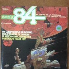 Comics : ZONA 84 Nº 1 - TOUTAIN - BUEN ESTADO. Lote 188742662