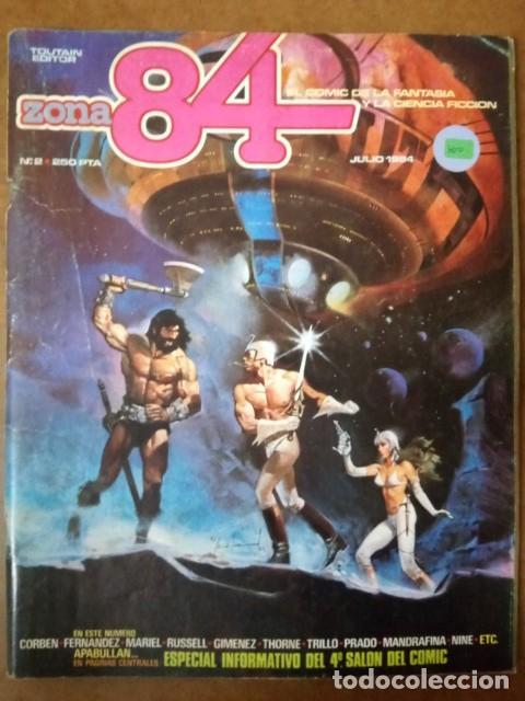 ZONA 84 Nº 2 - TOUTAIN (Tebeos y Comics - Toutain - Zona 84)