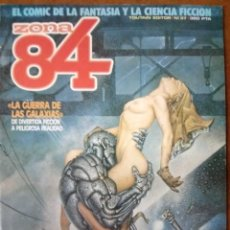 Fumetti: ZONA 84 Nº 37 - TOUTAIN - MUY BUEN ESTADO. Lote 188752673