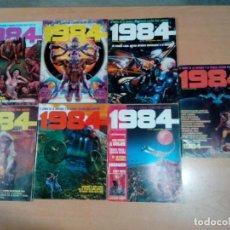 Cómics: LOTE 7 REVISTAS 1984 AÑOS 80- VER FOTOS - BUEN ESTADO. Lote 189915733