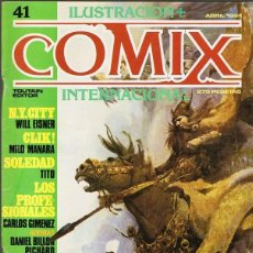 Cómics: COMIX INTERNACIONAL Nº 41. Lote 190283520