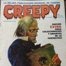 Cómics: CREEPY Nº 0. Lote 190315425