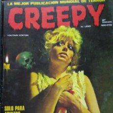 Cómics: CREEPY Nº 1. Lote 190315498