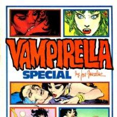 Comics : VAMPIRELLA SPECIAL BY JOSÉ GONZÁLEZ (TOUTAIN, 1977) TAPA DURA. Lote 190425141