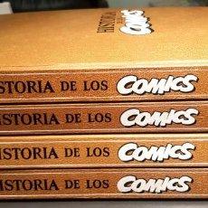 Fumetti: HISTORIA DE LOS COMICS (TOUTAIN, 1982) EN 4 TOMOS ENCUADERNADOS. CON LOS 5 POSTERS. Lote 190434571