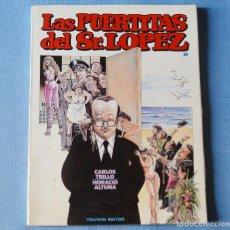 Comics: LAS PUERTITAS DEL SR LOPEZ - Nº 2 - CARLOS TRILLO Y HORACIO ALTUNA - EDITORIAL TOUTAIN. Lote 190535305