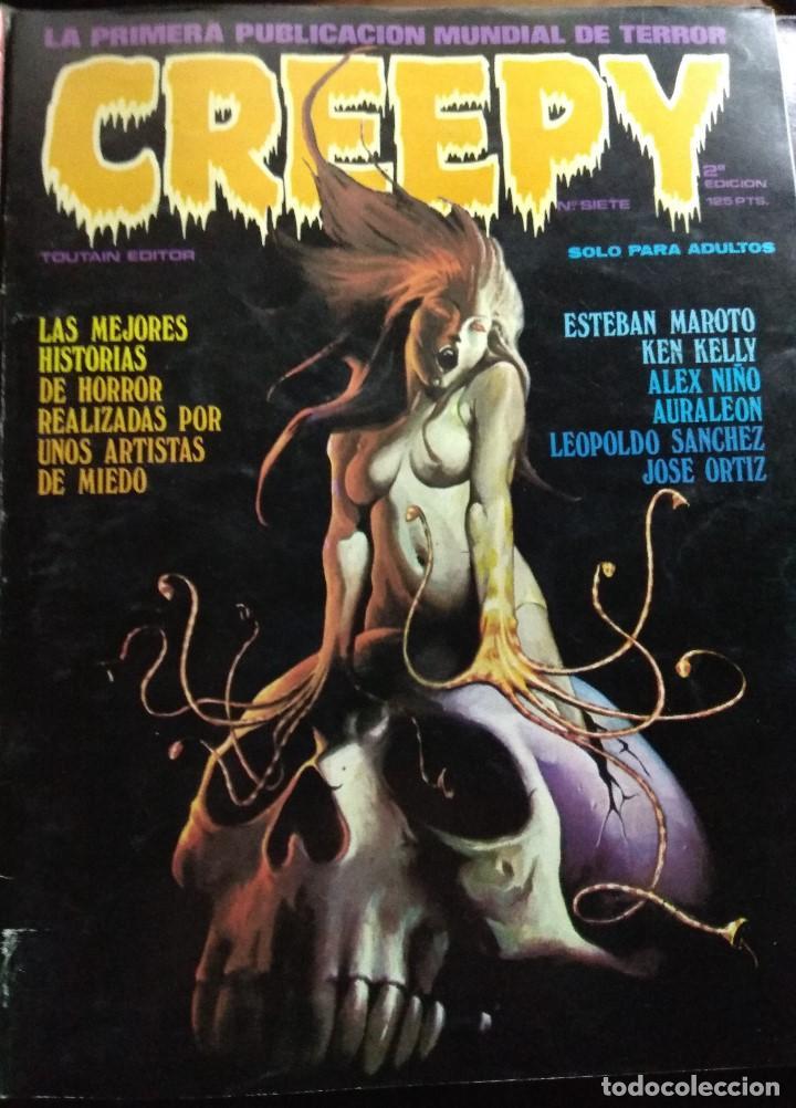 CREEPY Nº 7 (Tebeos y Comics - Toutain - Creepy)
