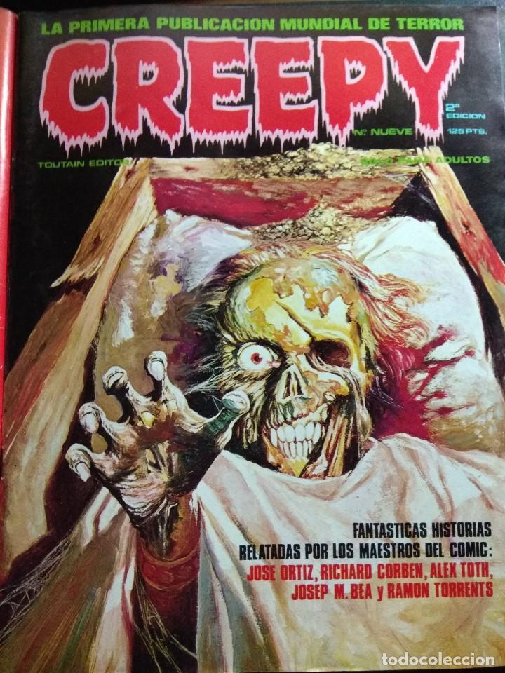 CREEPY Nº 9 (Tebeos y Comics - Toutain - Creepy)