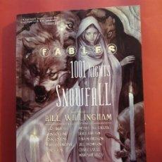 Cómics: FABLES 1001 NIGHTS OF SNOWFALL VERTIGO INGLES EXCELENTE ESTADO DIFICIL. Lote 218706027