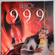 Cómics: JOSÉ MARÍA BEROY 999 666 TOUTAIN EDITOR 1988. Lote 191053028