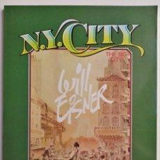 Comics : N.Y. CITY THE BIG CITY TOUTAIN EDITOR 1985. Lote 191063363
