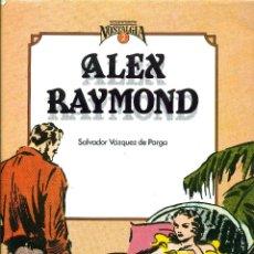 Cómics: ALEX RAYMOND. CUANDO EL COMIC ES NOSTALGIA-2 (TOUTAIN, 1983) DE SALVADOR VÁZQUE DE PARGA. TAPA DURA. Lote 191364301