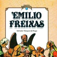 Cómics: EMILIO FREIXAS. CUANDO EL COMIC ES NOSTALGIA-1 (TOUTAIN, 1982) DE SALVADOR VÁZQUEZ DE PARGA. T.DURA. Lote 191366066