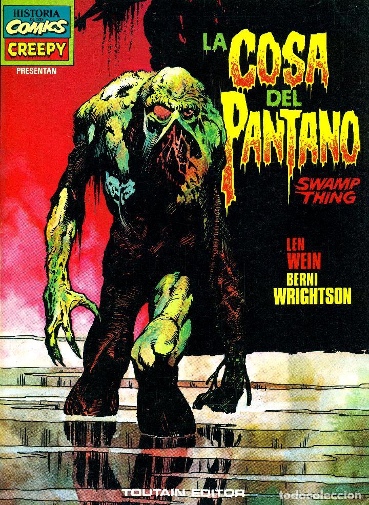 LA COSA DEL PANTANO (SWAMP THING) DE BERNI WRIGHTSON (TOUTAIN, 1983) (Tebeos y Comics - Toutain - Álbumes)