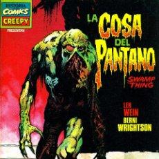 Fumetti: LA COSA DEL PANTANO (SWAMP THING) DE BERNI WRIGHTSON (TOUTAIN, 1983). Lote 191421440