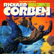 Cómics: BLOODSTAR. RICHARD CORBEN OBRAS COMPLETAS-7 (TOUTAIN, 1987) GUIÓN DE ROBERT E. HOWARD. Lote 191450978