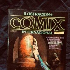 Cómics: COMIX ILUSTRACIÓN INTERNACIONAL TOUTAIN EDITOR FRANK FRAZETTA ILUSTRADOR AÑOS 80 S XX. Lote 191504295