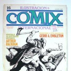 Cómics: ILUSTRACION + COMIX INTERNACIONAL 16. Lote 191614880