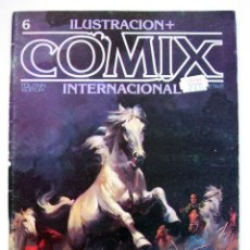 Cómics: ILUSTRACION + COMIX INTERNACIONAL 6. Lote 191614977