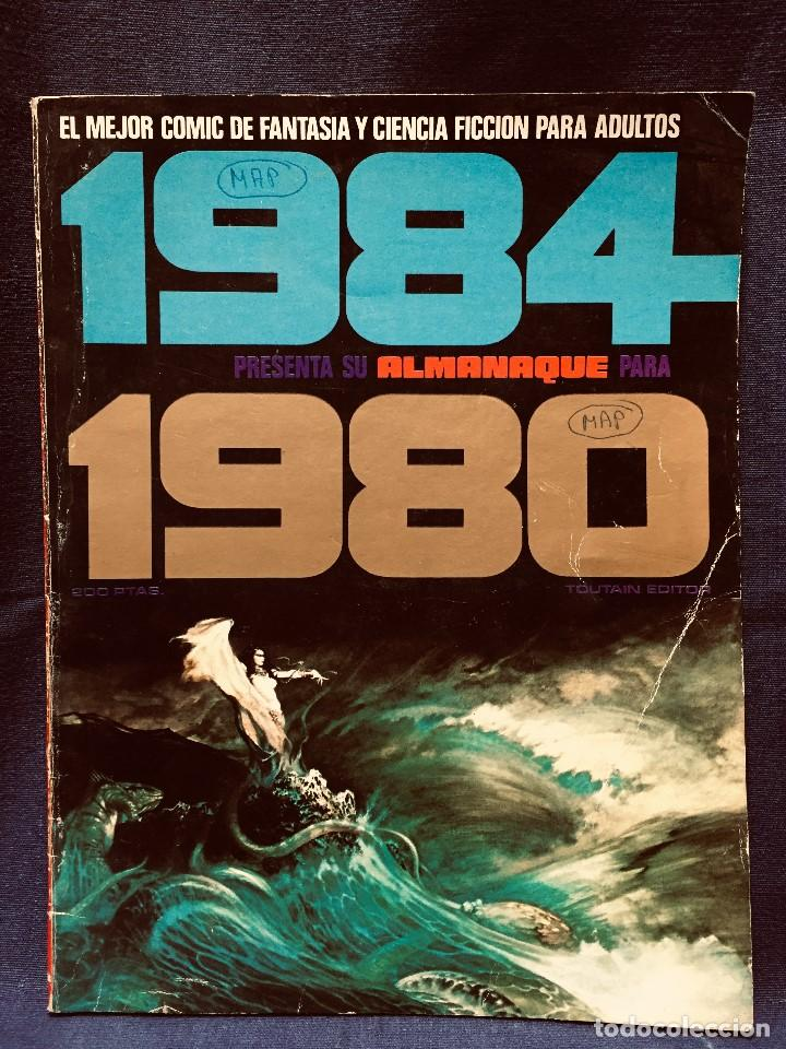 1984 PRESENTA ALMANAQUE 1980 TOUTAIN EDITOR ORIGINAL 1979 (Tebeos y Comics - Toutain - 1984)