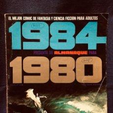 Cómics: 1984 PRESENTA ALMANAQUE 1980 TOUTAIN EDITOR ORIGINAL 1979. Lote 191826585