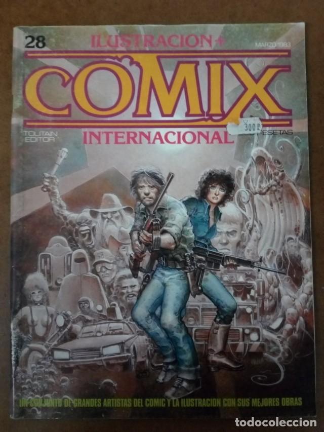 COMIX INTERNACIONAL Nº 28 - TOUTAIN - BUEN ESTADO (Tebeos y Comics - Toutain - Comix Internacional)