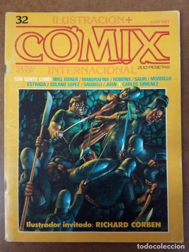 COMIX INTERNACIONAL Nº 32 - TOUTAIN - BUEN ESTADO (Tebeos y Comics - Toutain - Comix Internacional)