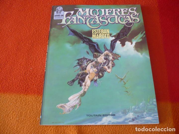 MUJERES FANTASTICAS ( ESTEBAN MAROTO ) ¡BUEN ESTADO! TOUTAIN JOYAS DE CREEPY (Tebeos y Comics - Toutain - Otros)