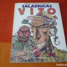 Cómics: SALADRIGAS ( VITO ) JOVENES AUTORES ESPAÑOLES ¡BUEN ESTADO! TOUTAIN. Lote 192458982