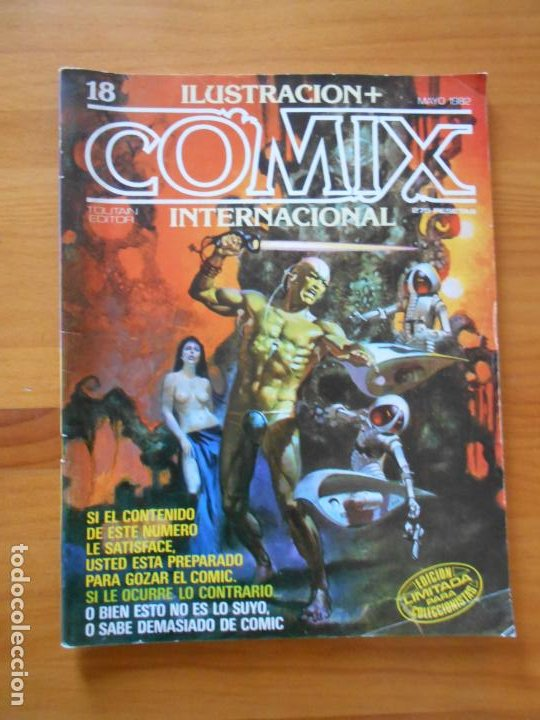 ILUSTRACION + COMIX INTERNACIONAL Nº 18 - TOUTAIN (W1) (Tebeos y Comics - Toutain - Comix Internacional)