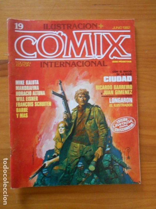 ILUSTRACION + COMIX INTERNACIONAL Nº 19 - TOUTAIN (W1) (Tebeos y Comics - Toutain - Comix Internacional)