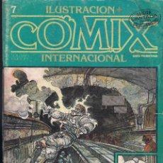 Cómics: ILUSTRACION + COMIX INTERNACIONAL. Nº 7. Lote 193396208