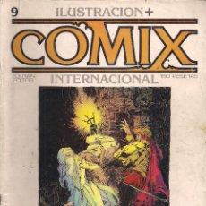 Cómics: ILUSTRACION + COMIX INTERNACIONAL. Nº 9. Lote 193396447
