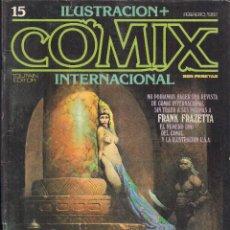 Cómics: ILUSTRACION + COMIX INTERNACIONAL. Nº 15. Lote 193397047