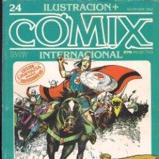 Cómics: ILUSTRACION + COMIX INTERNACIONAL. Nº 24. Lote 193397342