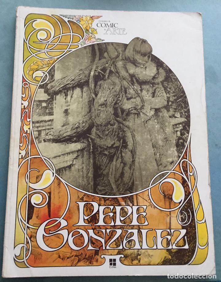 PEPE GONZALEZ - CUANDO EL COMIC ES UN ARTE - EDITORIAL TOUTAIN - 1978 (Tebeos y Comics - Toutain - Álbumes)