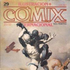 Cómics: ILUSTRACION + COMIX INTERNACIONAL. Nº 29. Lote 193570766