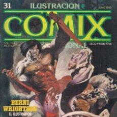 Cómics: ILUSTRACION + COMIX INTERNACIONAL. Nº 31. Lote 193570857