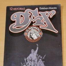 Cómics: DAX EL GUERRERO - ESTEBAN MAROTO - 12 HISTORIAS - TOUTAIN . Lote 193641152
