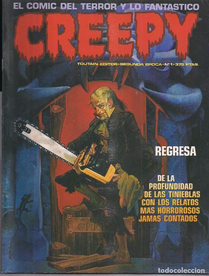 CREEPY Nº 1 SEGUNDA ÉPOCA (Tebeos y Comics - Toutain - Creepy)