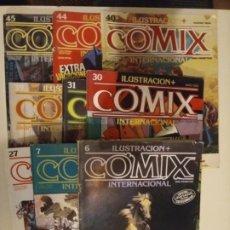 Comics: ILUSTRACIÓN COMIX INTERNACIONAL. LOTE DE 12 VOLS. Lote 193757976